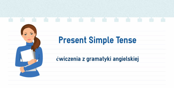 the present simple tense - exercises